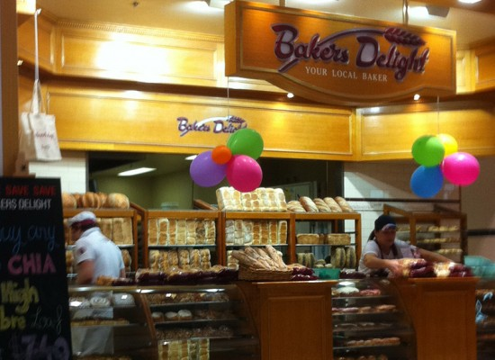 Bakers Delight Shop Lighting